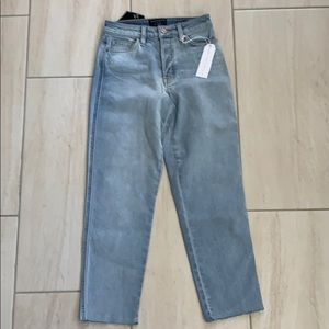 Sanctuary alt tapered high rise jeans size 24